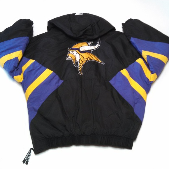 best authentic 2073f 72a9f STARTER Jackets & Coats | Vintage Pro Line Minnesota Vikings ...